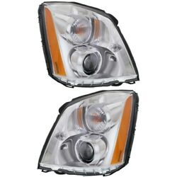 Gm2503275, Gm2502275 Hid Headlight Lamp Left-and-right Hid/xenon Sedan Lh And Rh
