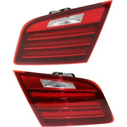 Set Of 2 Tail Lights Lamps Left-and-right Inside For 528 535 550 5 Series Pair