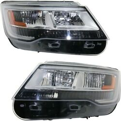 Fo2518129 Fo2519129 Hid Headlight Lamp Left-and-right Hid/xenon Lh And Rh