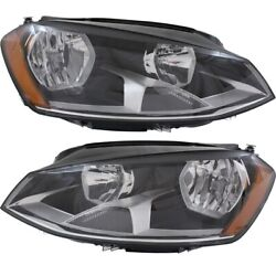 Headlight Lamp Left-and-right For Vw Vw2502160 Vw2503160 5gm941005c 5gm941006c