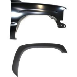 Set Of 2 Fenders Front Right Hand Side For Chevy Passenger Rh Chevrolet Pair