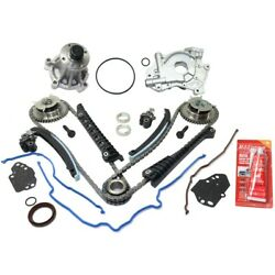 Oil Pump Timing Chain Kit Water Pump For 2005-2010 Ford F-250 Super Duty Kit