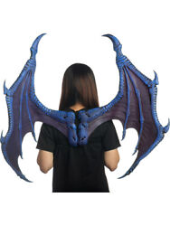 Supersoft Blue Ultimate Dragon Wings Costume Accessory