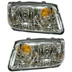 Headlight Lamp Left-and-right For Vw Lh And Rh Jetta 02-05 Vw2503125, Vw2502125