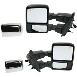 Fo1321480 Fo1320480 Mirrors Set Of 2 Left-and-right Heated For F150 Truck Pair
