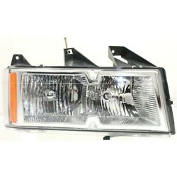 19209126 Gm2503247 Headlight Lamp Right Hand Side For Chevy Passenger Rh Canyon