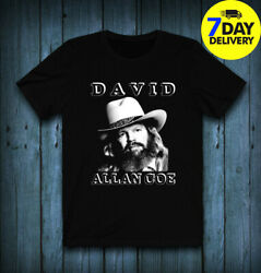 David Allan Coe T-Shirt Tee Exclusive  Full size for men women