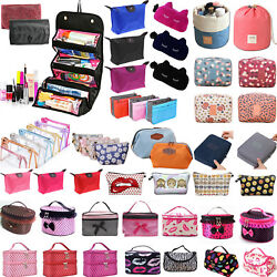 Cosmetic Beauty Makeup Case Travel Toiletry Wash Holder Organizer Storage Bag