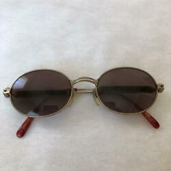 Authentic Jean Paul Gaultier Sunglasses Antique Stained glass side design