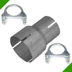 Pipe Reducer by 50mm on 65mm Exhaust Adapter 2 Clips Reduzierrohr N4