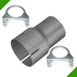Pipe Reducer by 50mm on 60mm Exhaust Adapter 2 Clips Reduzierrohr N9