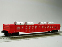 Lionel Css 52and039 Coil Gondola 3859 Rollingstock Freight Chicago 1926321 New