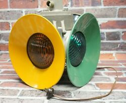 Vintage Wrr And Co Railroad 4 Way Switch Light Lamp 1880-1 Antique Man Cave
