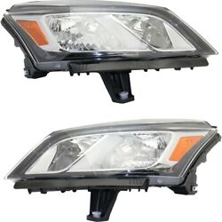 Gm2502375c Gm2503375c Headlight Lamp Left-and-right For Chevy Lh And Rh Traverse