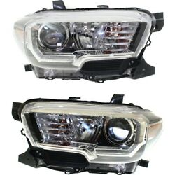 Headlight Lamp Left-and-right To2502244c To2503244c 8115004270 8111004270