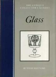 Glass Antique Collectors' Guides By Ruth Hurst Vose. 9780852237144
