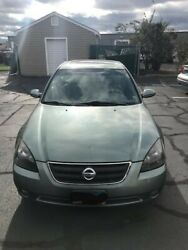 2002 Nissan Altima 3.5 Se Mechanic Special. Sold As Is