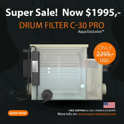 Drum Filter Usa   New 2021   Pond   Natural Pool   Rdf Best Choice   2295- Usd
