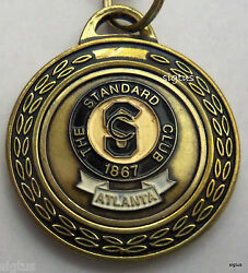 The Standard Club Atlanta Founded In 1867 Metal Keychain - Mint Collectible