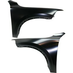 Pair Fenders Set Of 2 Front Left-and-right Lh And Rh For Volvo Xc90 2016-2019
