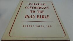 Youngs Analytical Concordance Of The Bible, Robert Young, Lutterw