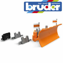 Bruder Snow Plow Blade Accessory Winter Vehicles Childrens Toy Model Scale 116