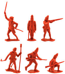 Marx Recast 60mm 1776 British Infantry - Warriors Of The World 90s Production