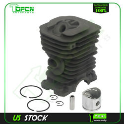 For Husqvarna 142 141 41 137 136 Chainsaw 40mm Cylinder Pin Piston Assembly Kit