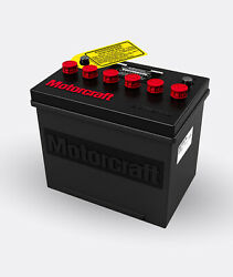Motorcraft Battery Red Group 24 R-24f 1972-77 Battery Topper