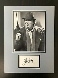 John Candy Signed Autograph Matted Display Uncle Buck Home Alone - Option 1
