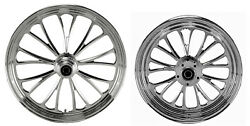 Manhattan Wheel Set 21 And 16 Front/rear Harley Sportster Nightster Iron 08-18