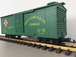 Charles Ro / Usa Trains R-1967 Wells Fargo And Co. Express G Scale Freight Car