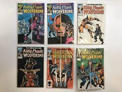 Kitty Pryde And Wolverine, 1-6, Full Run, 1984, Great Condition Limited Series