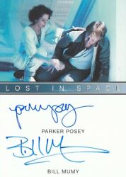 Lost In Space Season 1 Netflix - Parker Posey And Billy Mumy Dual Autograph El