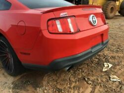 Rear Bumper Dual Exhaust Pony Package V6 Fits 11-12 MUSTANG 1918041