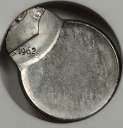 1962 Anacs Ms63 80 Off Center Silver Dime Mint Error Great Eye Appeal