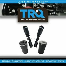Trq 4 Piece Air Suspension Kit Front And Rear Air Spring Assemblies For Bmw X5