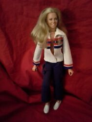 Kenner 1st Wave Bionic Woman Doll / Great Condition/ Poses Well See Photos