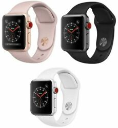 Apple Watch Series 3 38MM 42MM GPS Cellular All Colors