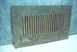 Hood Section Hinged Lower Side Right Front 1926 Dodge Brothers Sedan Vintage Ce