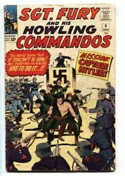 Sgt Fury And His Howling Commandos-9-1964-marvel-kirby Art-wwii-hitler