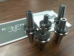 5 Any Inch Sizes Shrink Fit Bt40 End Mill Holders Germany Kelch G2.5/25000rpm