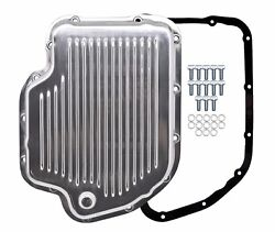 Polished Aluminum Transmission Pan Kit For Chevy Gm Turbo 400 Th-400