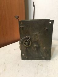 Antique 8 Day Grandfather Or Tallcase Clock Movement Parts