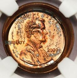 2000 Ngc Ms67rd Deep Obverse Die Cap Lincoln Cent Mint Error 2nd Date Reverse