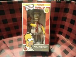 Fishing Homer With Bonus Blinky Tin Action Toy The Simpsons 642063008038