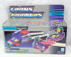 Transformers Original G1 Micromaster Cannon Transport Unused Sealed Contents Box