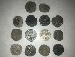 Largest Private Collection Of Rare Entella Coins -muhammad Ibn Abbad Of Sicily