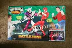 Power Rangers Wild Force Battlezone Playset Red Ranger Vs Jindrax New Sealed
