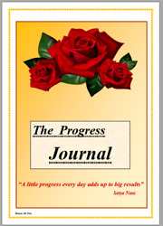 Printable Weekly Planner Progress Journal To do list Goals tracking
